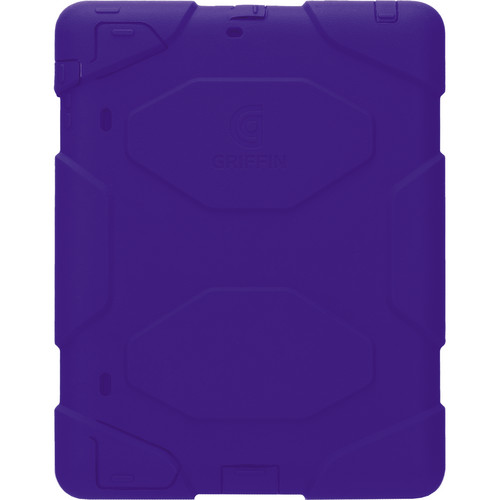 Griffin Technology Survivor Case with Stand for iPad 2nd, 3rd, 4th Gen (Lavender/Purple)
