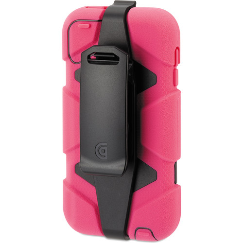 Griffin Technology Survivor All-Terrain Case for 5th and 6th Generation iPod touch (Pink and Black)