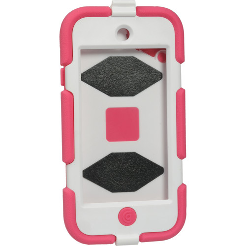 Griffin Technology Survivor All-Terrain Case for 5th and 6th Generation iPod touch (Pink and White)