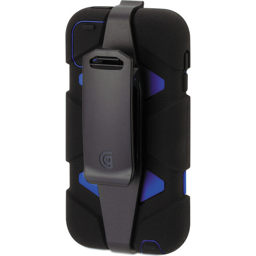 Griffin Technology Survivor Case for 5th Generation iPod touch (Black and Blue)