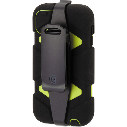 Griffin Technology Survivor All-Terrain Case for 5th and 6th Generation iPod touch (Black and Citron)