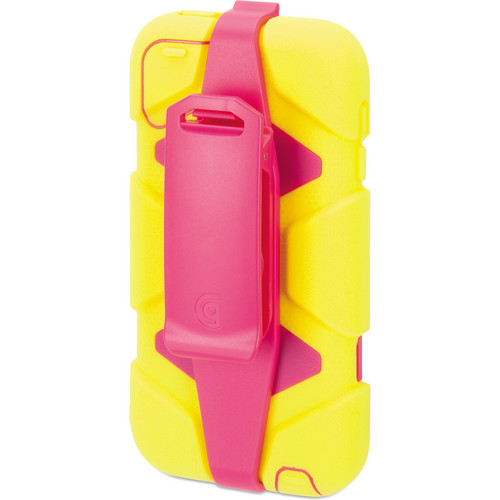 Griffin Technology Survivor All-Terrain Case for 5th and 6th Generation iPod touch (Citron and Pink)