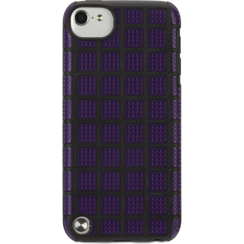 Griffin Technology MeshUps Case for iPod touch 5th Gen (Purple / Black)