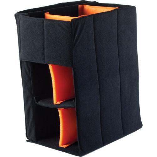 Gruv Gear Stadium Bag Drop-In Camera Divider (Black)