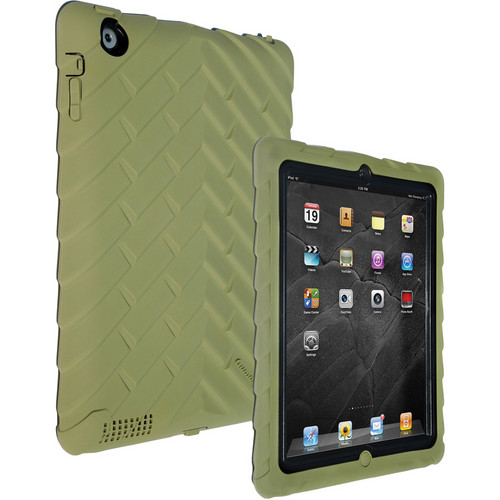 Gumdrop Cases Drop Tech Series iPad 2nd, 3rd, and 4th Generation, Military Edition (Army-Green 44)