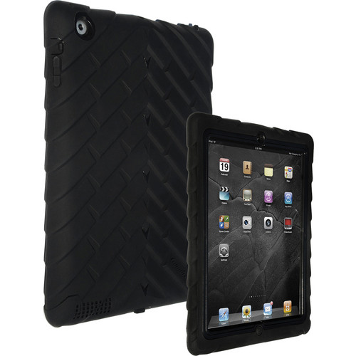 Gumdrop Cases Drop Tech Series Case for iPad 2nd, 3rd, and 4th Generation (Black/Black)