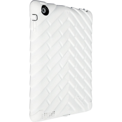 Gumdrop Cases Drop Tech Series Case for iPad 2nd, 3rd, and 4th Generation (White/Black)