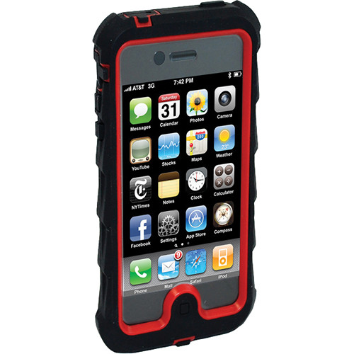 Gumdrop Cases Drop Tech Series Case for iPhone 5 (Black/Red)