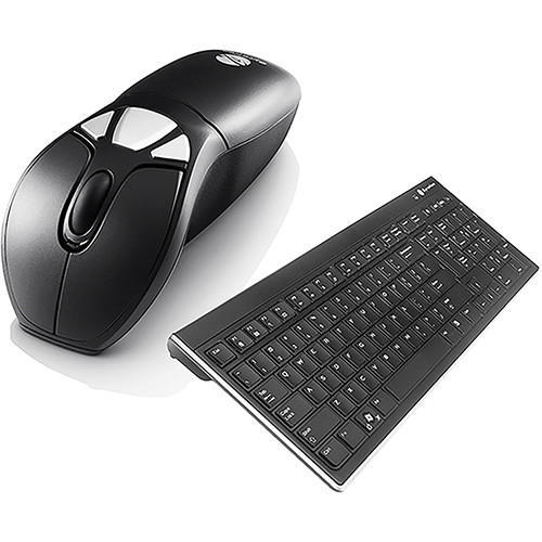 Gyration Air Mouse GO Plus with Full-Size Keyboard (White Box)