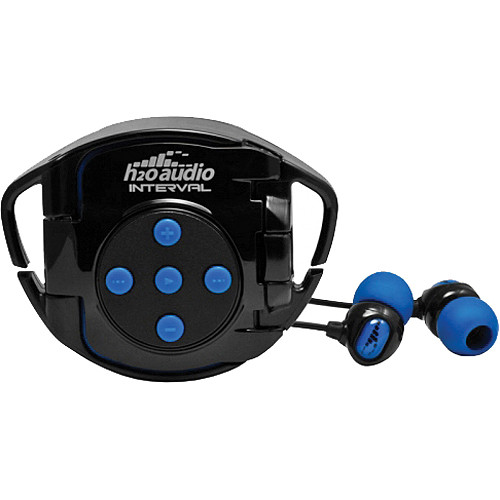 H2O Ninja Interval 4G Waterproof Headphone System for iPod shuffle