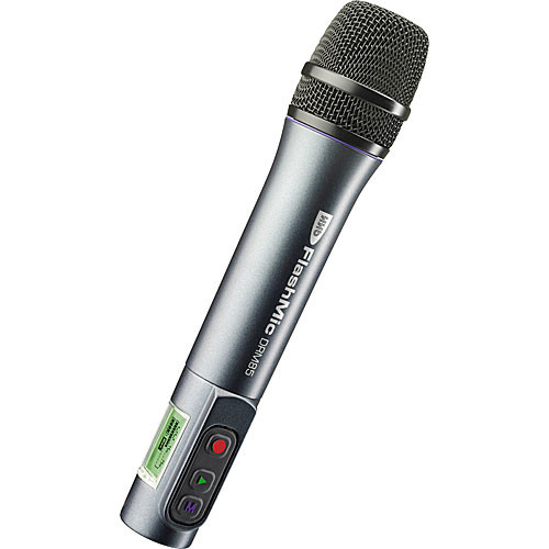 HHB DRM85LI FlashMic Handheld Microphone Recorder with Line-In (Omni)
