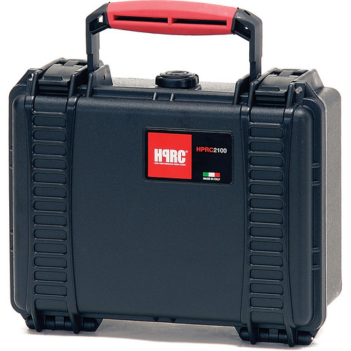 HPRC 2100E Hard Case without Foam (Black with Red Handle)
