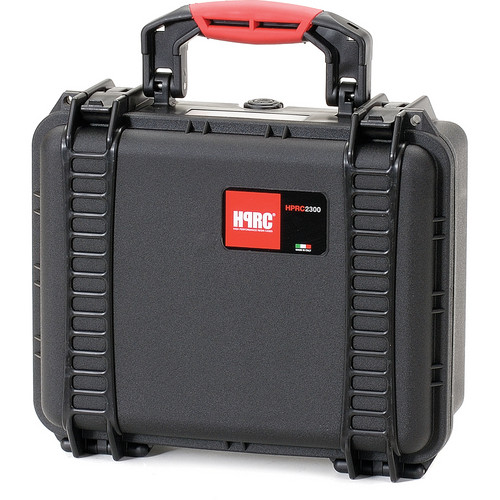 HPRC 2300E Hard Case without Foam (Black with Red Handle)