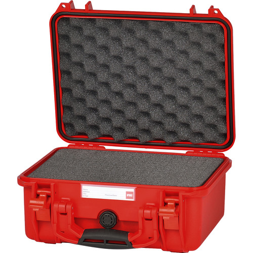 HPRC 2300F HPRC Hard Case with Cubed Foam Interior (Red)