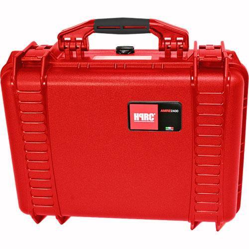 HPRC 2400F HPRC Hard Case with Cubed Foam Interior (Red)