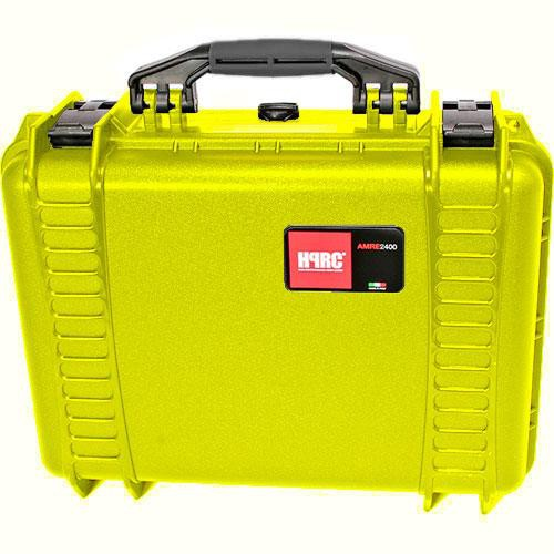 HPRC 2400F HPRC Hard Case with Cubed Foam Interior (Yellow)
