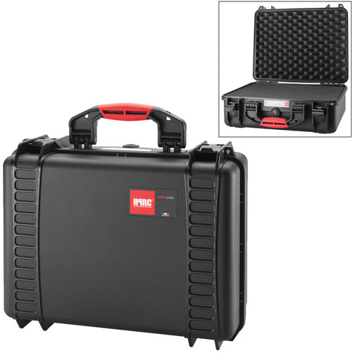 HPRC 2460F HPRC Hard Case with Foam (Black)