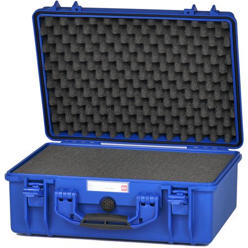 HPRC 2500F HPRC Hard Case with Cubed Foam Interior (Blue)