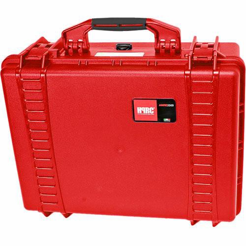 HPRC 2500F HPRC Hard Case with Cubed Foam Interior (Red)