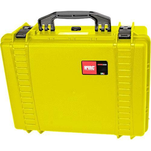 HPRC 2500F HPRC Hard Case with Cubed Foam Interior (Yellow)