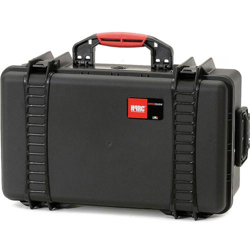 HPRC 2550 Wheeled Hard Case, Empty Interior (Black)