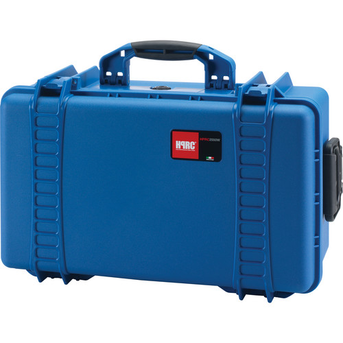 HPRC 2550 Wheeled Hard Case, Empty Interior (Blue)