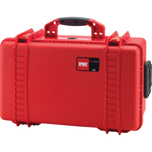 HPRC 2550 Wheeled Hard Case, Empty Interior (Red)
