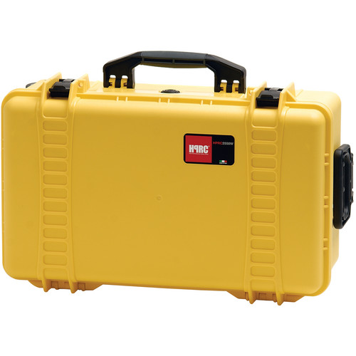 HPRC 2550 Wheeled Hard Case, Empty Interior (Yellow)