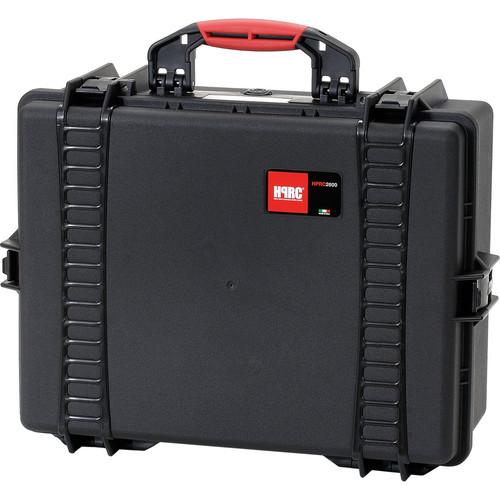 HPRC 2600F HPRC Hard Case with Cubed Foam Interior (Black)