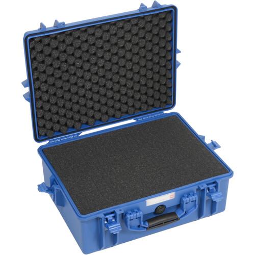 HPRC 2600F HPRC Hard Case with Cubed Foam Interior (Blue)