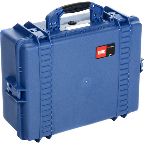 HPRC 2600F HPRC Hard Case with Cubed Foam Interior (Blue)