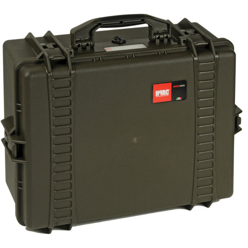 HPRC 2600F HPRC Hard Case with Cubed Foam Interior (Olive)