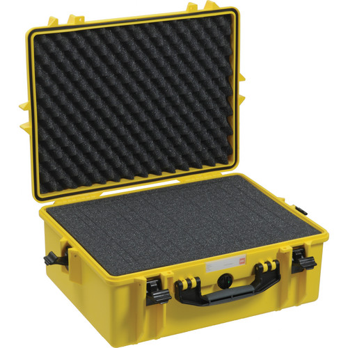 HPRC 2600F HPRC Hard Case with Cubed Foam Interior (Yellow)