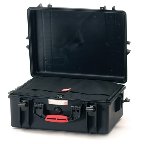 HPRC Water-Resistant Hard Case with Interior Nylon Bag (Black)
