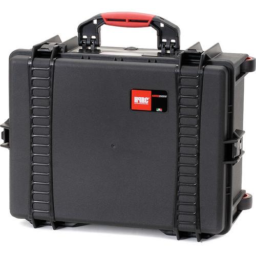 HPRC 2600WE Wheeled Hard Case, Empty Interior (Black)