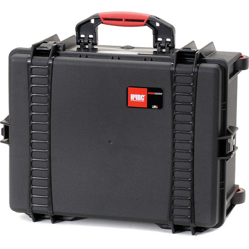 HPRC 2600WE Wheeled Hard Case, Empty Interior (Black)