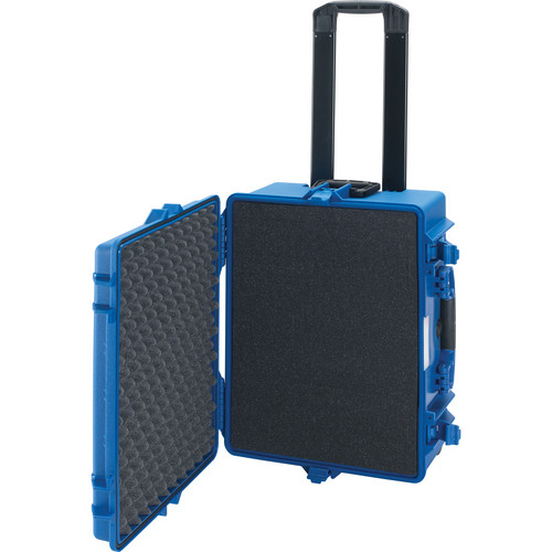 HPRC 2600 Wheeled Hard Case with Cubed Foam Interior (Blue)