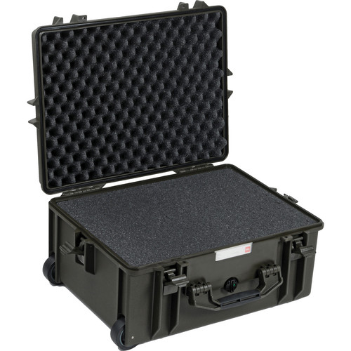 HPRC 2600 Wheeled Hard Case with Cubed Foam Interior (Olive)
