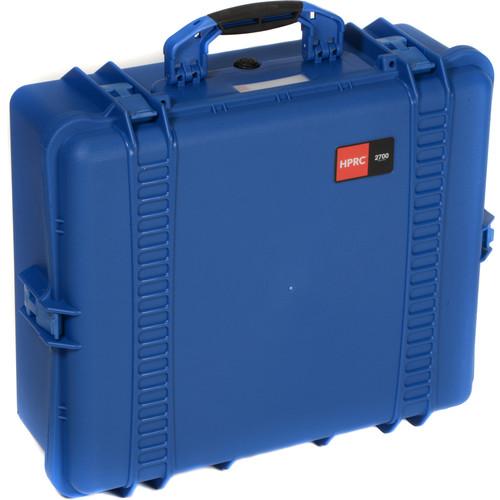 HPRC 2700E Hard Case with Empty Interior (Blue)