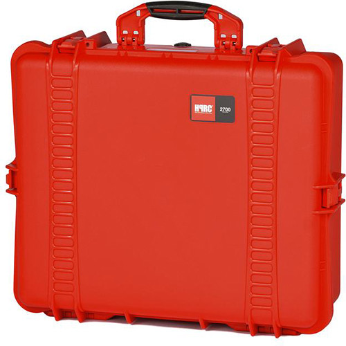 HPRC 2700E Hard Case with Empty Interior (Red)