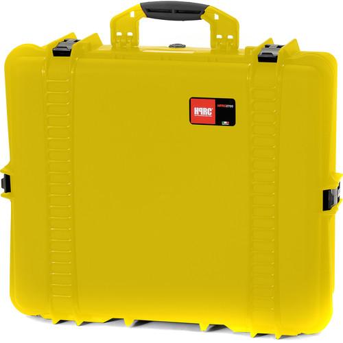 HPRC 2700E Hard Case with Empty Interior (Yellow)