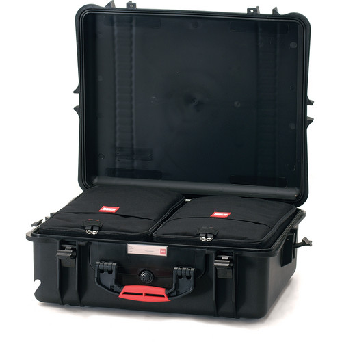 HPRC 2700IC Case with 2 Internal Bags and Divider Kit (Black)