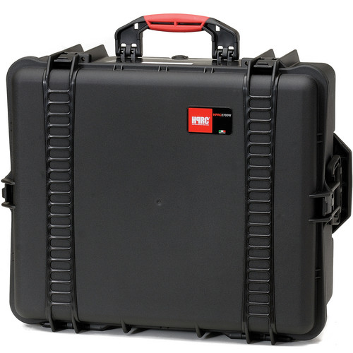 HPRC 2700 Wheeled Hard Case, Empty Interior (Black)