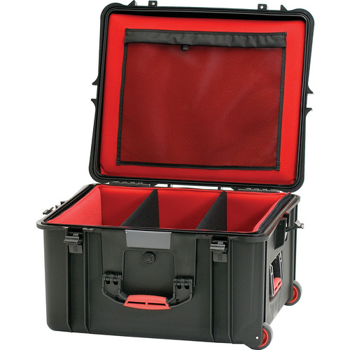 HPRC 2730WDK Wheeled Hard Case with Divider Kit (Black)