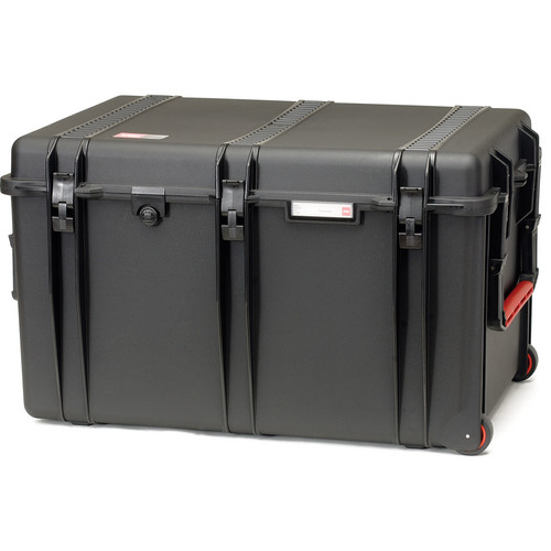 HPRC 2800WE Hard Case without Foam (Black with Red Handle)