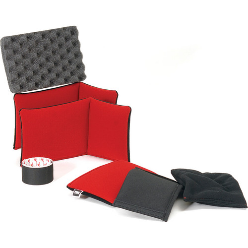 HPRC Soft Deck and Dividers Kit for HPRC4050 Series Case (Red and Black)