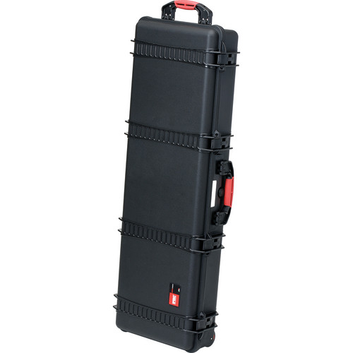 HPRC HP5400WE Waterproof Hard Case without Foam (Black with Red Handle)