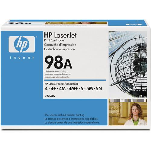 HP LaserJet 98A Black Toner Cartridge