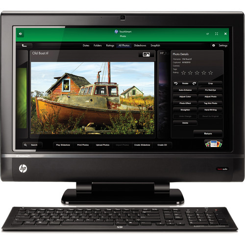 "HP TouchSmart 610-1030f 23"" All-in-One Desktop Computer"