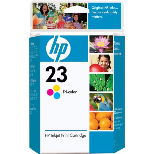 HP HP 23 Tri-Color Inkjet Print Cartridge